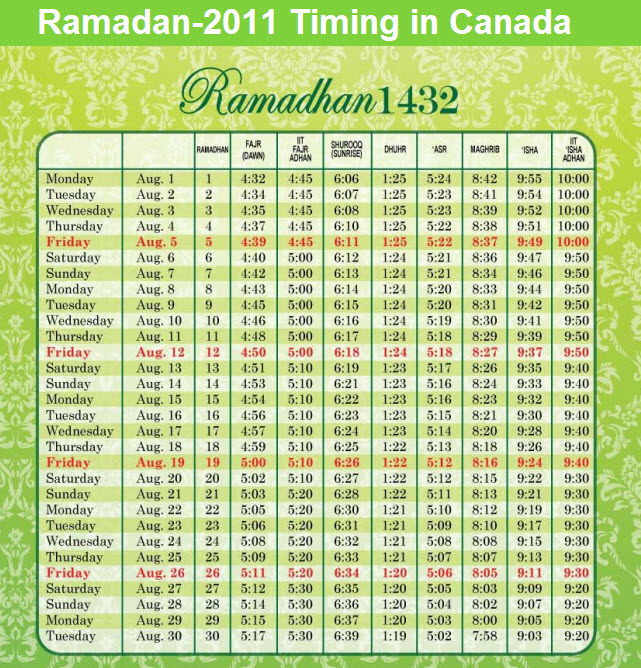 ramadan-calender-2011-canada-with-sehr-aftaar-timings
