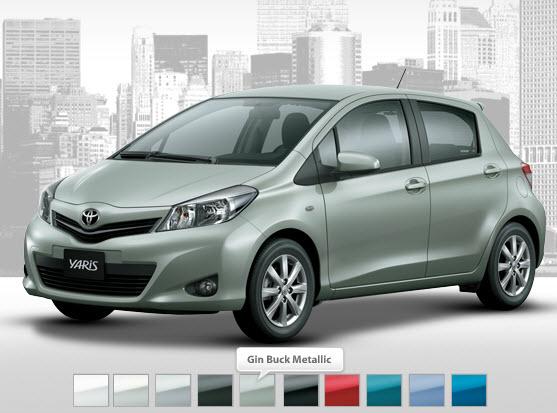 Toyota Yaris 2013 Price In India