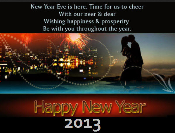 Happy-newyear2013-Romantic-greeting-card-Ecard with wishes messages