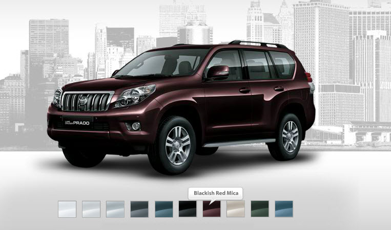 Red-color-2013-Toyota-Prado-picture