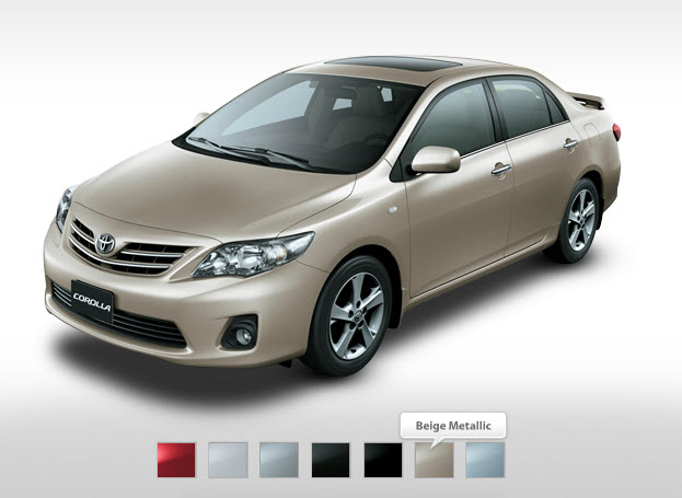 best toyota corolla2013 color in Automarket