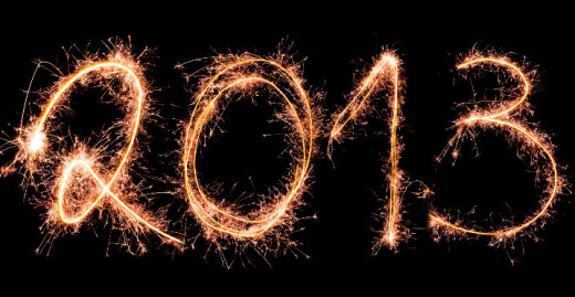 most beautiful 2013 new year HD wallpaper