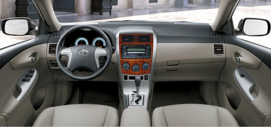 new-Toyota-Corolla-2013-Interior-in Pakistan india Dubai picture
