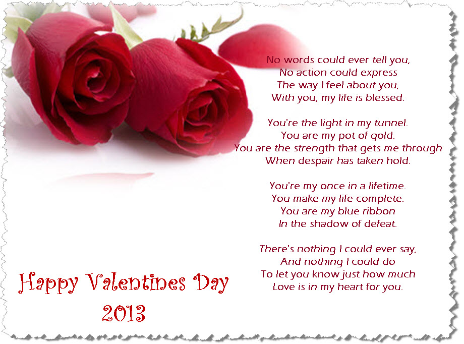 happy valentines poems to mom