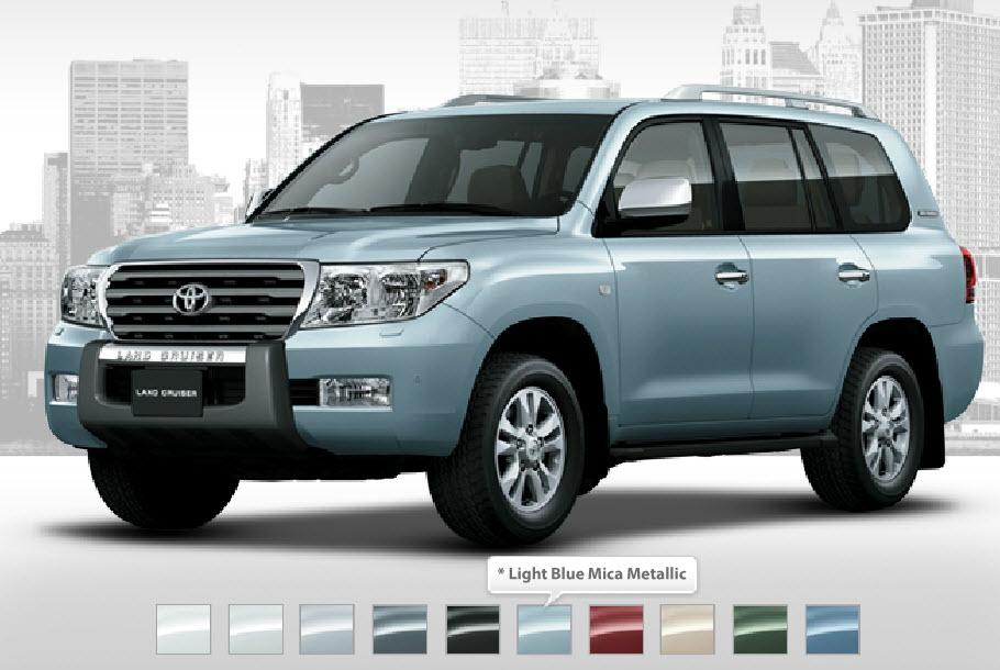 Toyota Land Cruiser 2014 Model