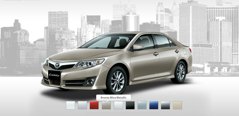 toyota camry colors 2017 - ototrends.net
