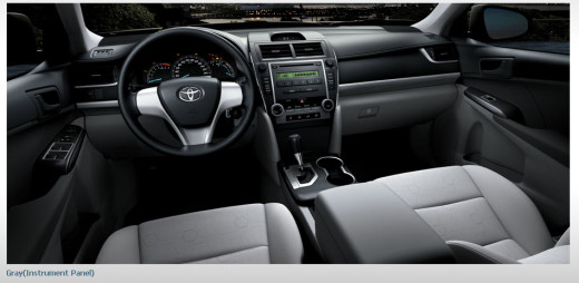 Talking Covers Toyota Camry 2013 Review Interior