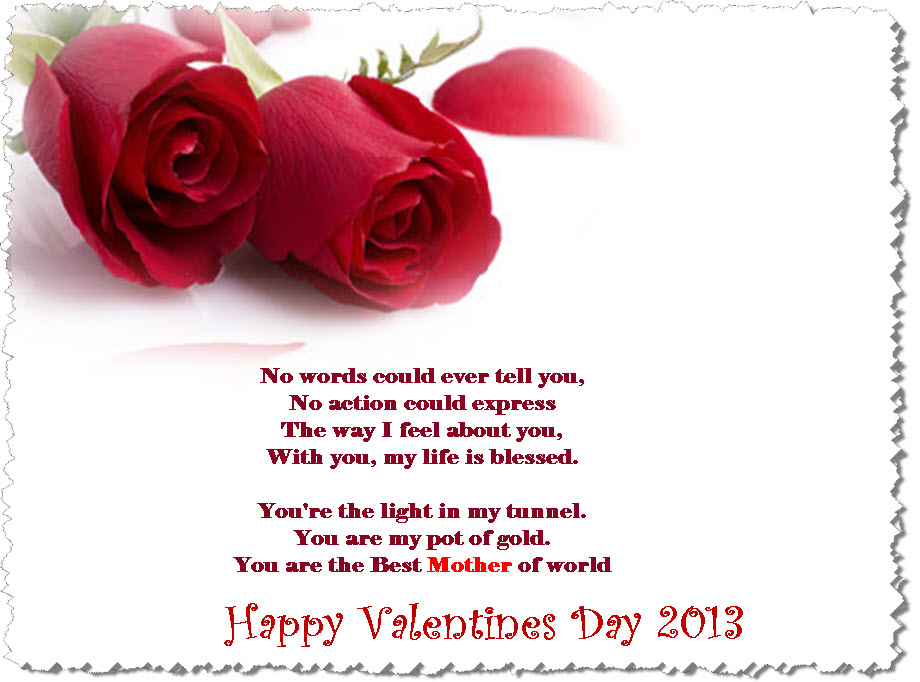 valentine day 2013 best wishes for mother ecard itsmyideas great minds discuss ideas