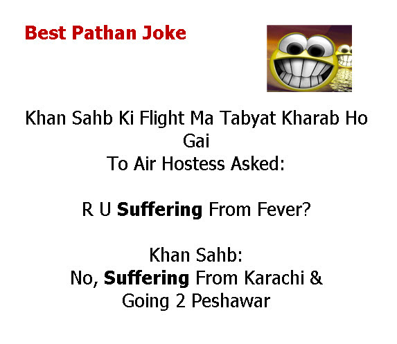 Latest Pathan Urdu Jokes 2013