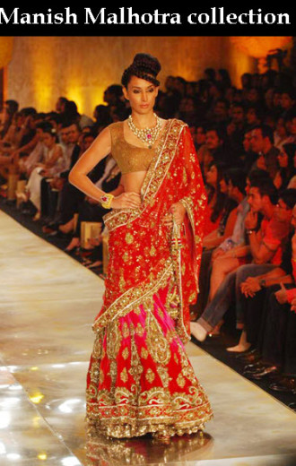 Manish-Malhotra Indian Top Fashion designer for bridal dress