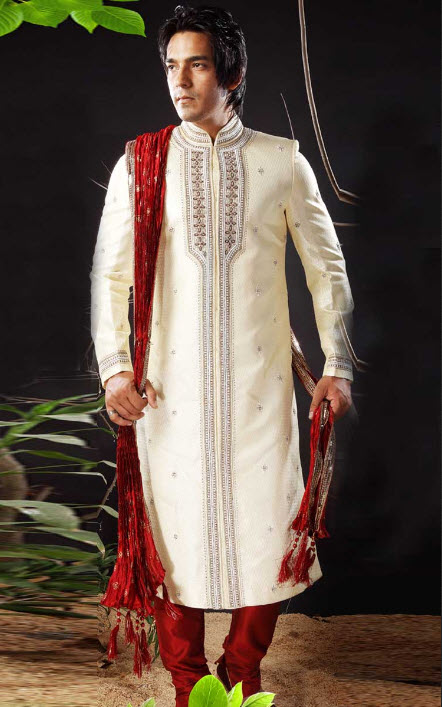 expensive Manish-malhotra Groom-sherwani design with price 2013