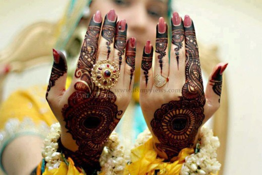latest mehndi design picture 2013-2014