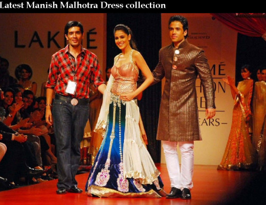 most beautiful Manish-malhotra bridal and groom dress collection 2013