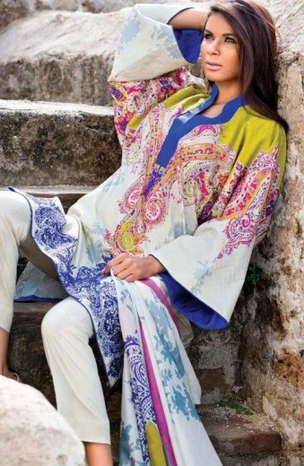 beautiful sana safinaz lawn designs 2013 2014