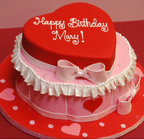 Love Shape Cake Images : Heart Shape Birthday Cake For Husband images