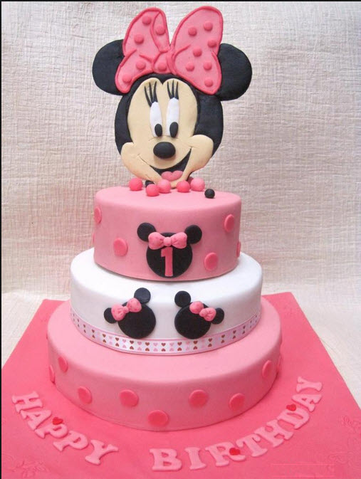 most-beautiful-birthday-cake-design-for-kids-cartoon shape