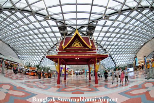 Bangkok Suvarnabhumi Airport-Inside-view-lounge picture