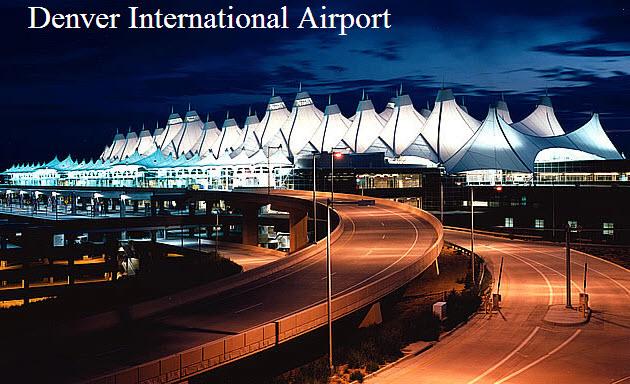 Denver International Airport At Night View Itsmyideas