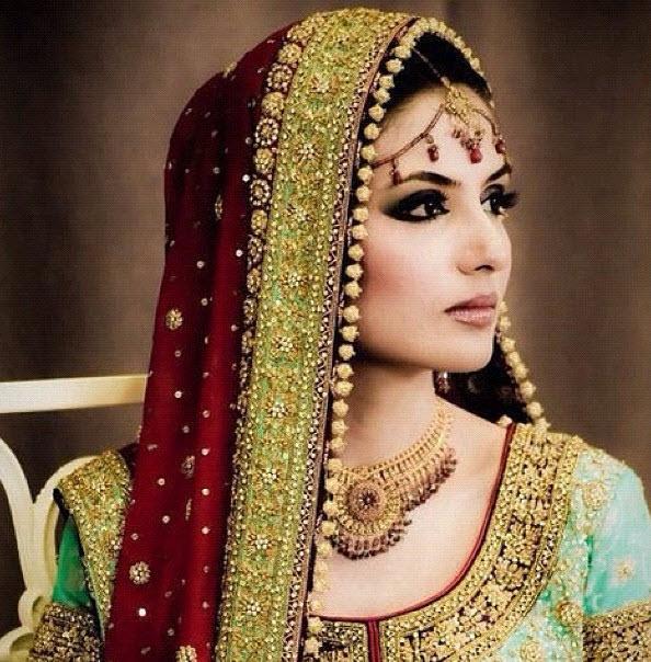 most-beautiful-pretty-Pakistani-Bridal-girl-picture | ItsMyideas ...