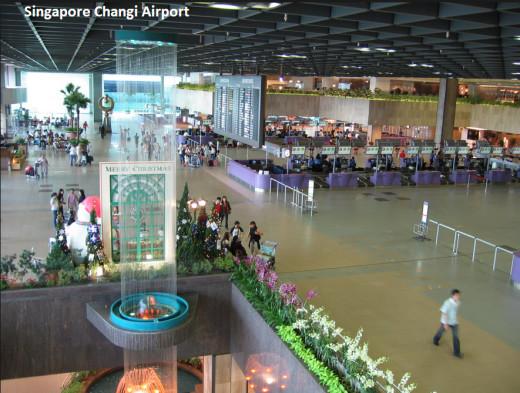world-best-airport-Singapore Changi Airport